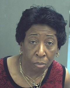Delores Laster (photo courtesy Orange County, FL jail)